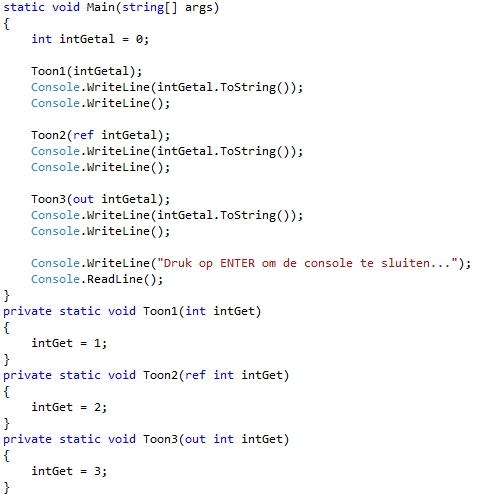 Figuur 6.1 functies
