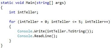 Figuur 5.1 iteratie