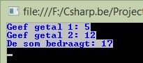 Figuur 2.3 c sharp bouwstenen