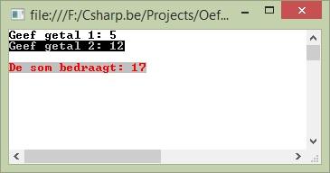 Figuur 2.9 c sharp bouwstenen