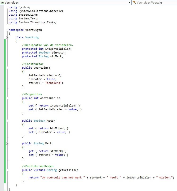 Figuur 13.5 object georiënteerd programmeren