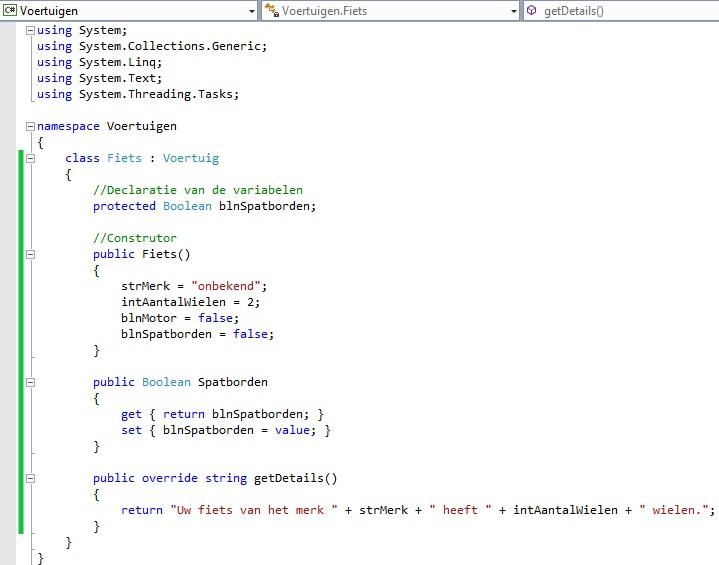 Figuur 13.6 object georiënteerd programmeren