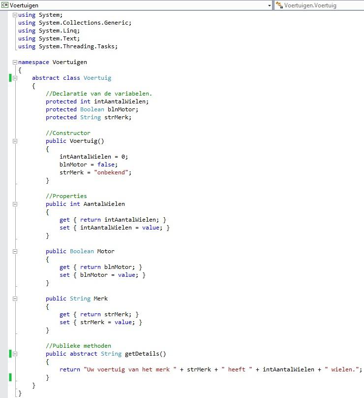Figuur 13.7 object georiënteerd programmeren