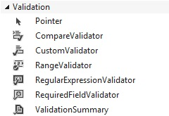 Figuur 16.1: Validation controls