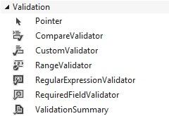 Figuur 16.1: Validation controls