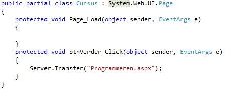 Figuur 17.9 Navigatie: Code Server.Transfer