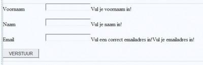 Oplossing oefeningen validatie 16-1: Design