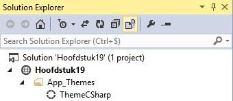 Figuur 19.15 masterpage: Submap van theme