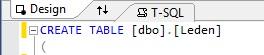 Figuur 20.9 database: Naam van de tabel wijzigen