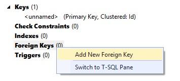 Figuur 20.16 database: Foreign Key toevoegen