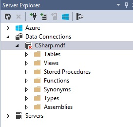 Figuur 20.4 database: Server Explorer