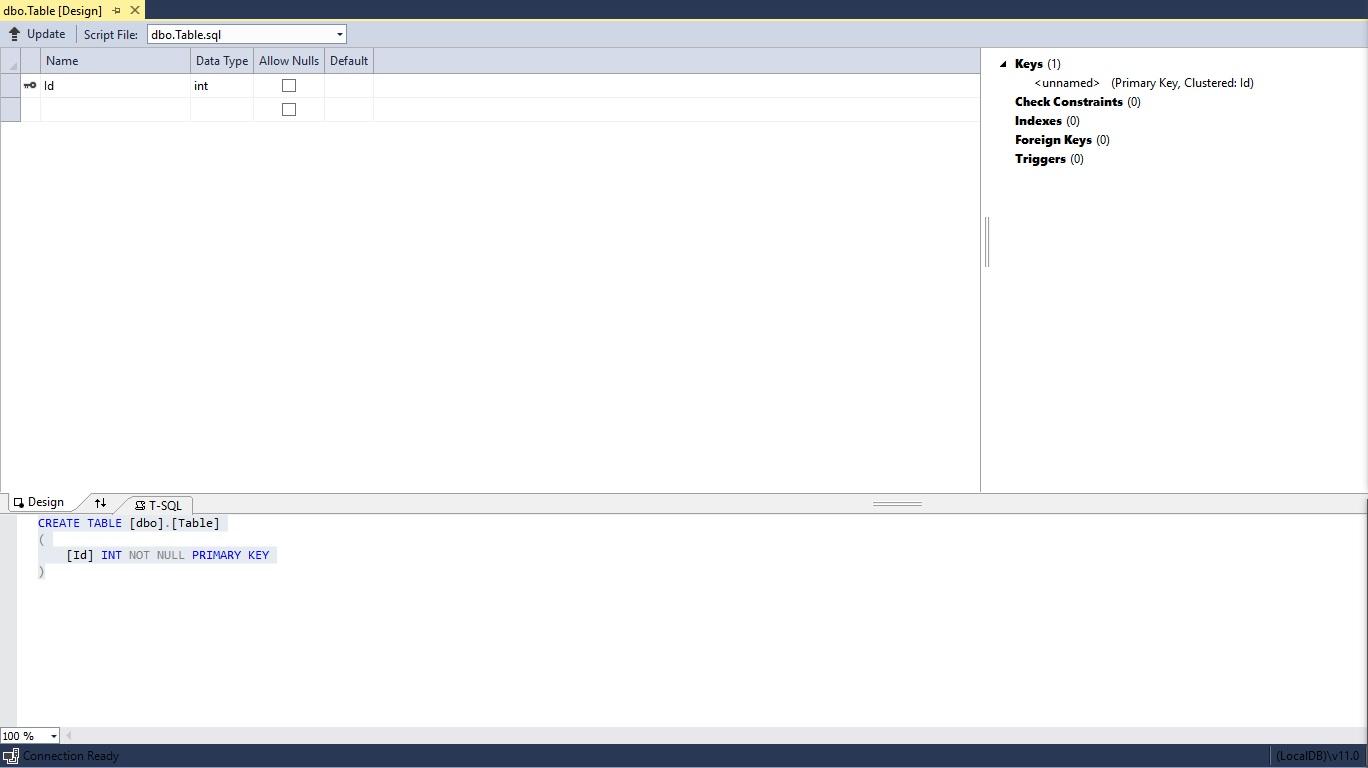 Figuur 20.7 database: Velden aanmaken