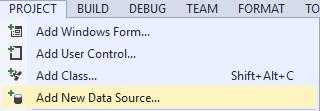 Figuur 23.1: Data Source toevoegen