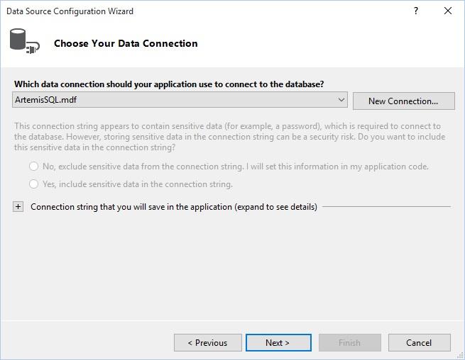 Figuur 23.4: Data Connection