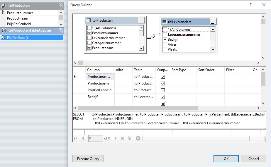 Oplossing oefening 23-3: Query Builder